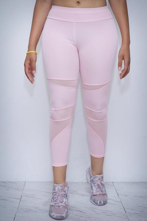 Lightwork premium leggings, pink