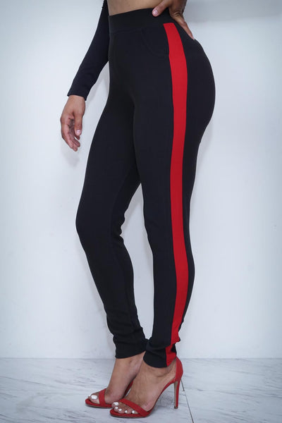Lady Assassin pants, red