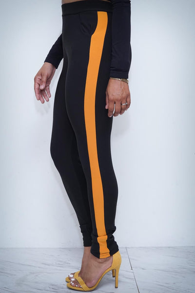 Lady Assassin pants, gold