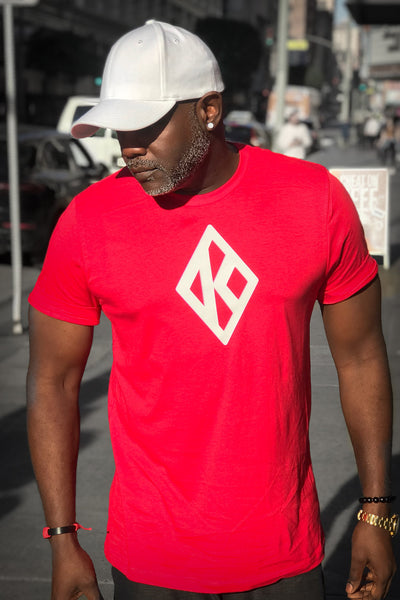 Mighty Nupe Diamond-K tee, red