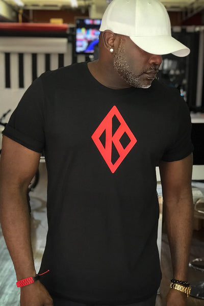 Mighty Nupe Diamond-K tee, black