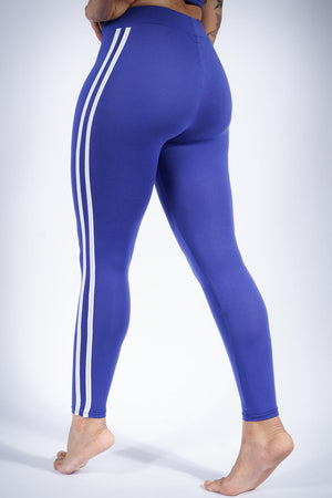 Finish Line leggings/crop-hoodie set, blue