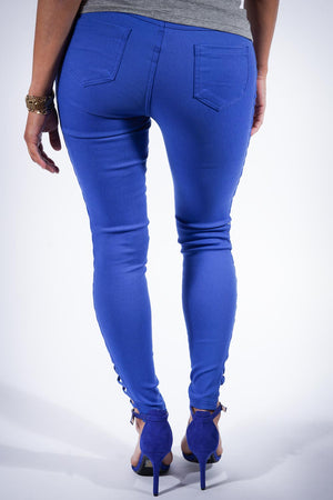 For My eX pants, blue