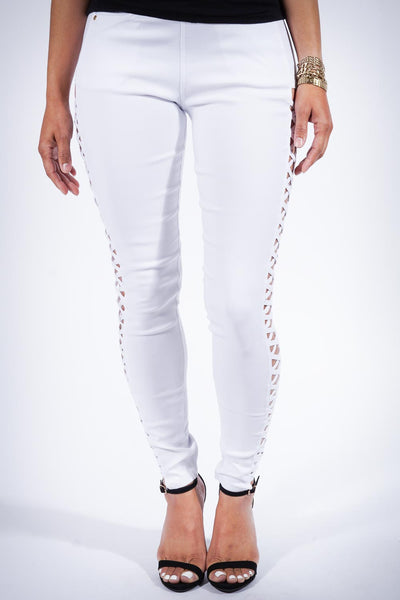For My eX pants, white