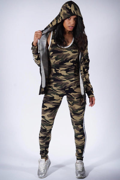 Heartbreak Ridge v.2 leggings/tank/jacket 3pc set