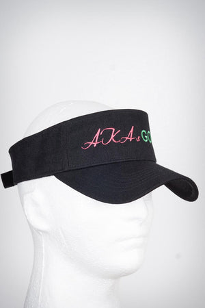 AKAs Golf visor, black