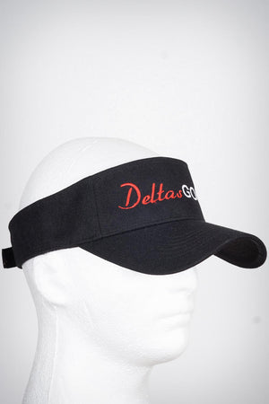 Deltas Golf visor, black