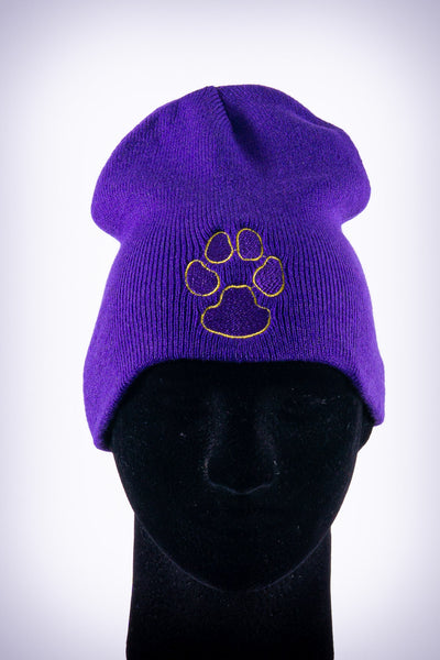 Dawg Pound skullie, purple