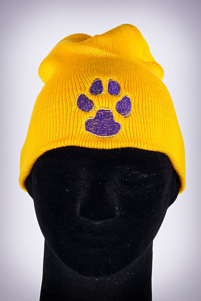 Dawg Pound skullie, gold