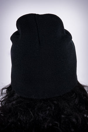 High Goals skullie beanie, black