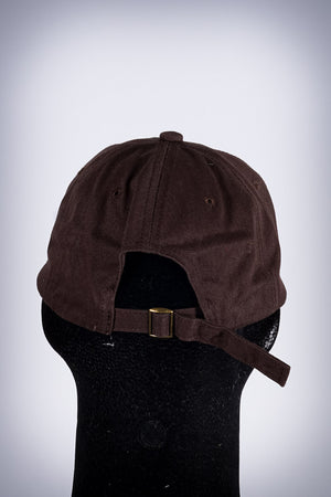 Iota FIT polo dad hat, brown