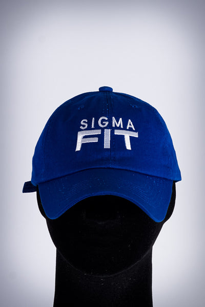 Sigma FIT polo dad hat, blue