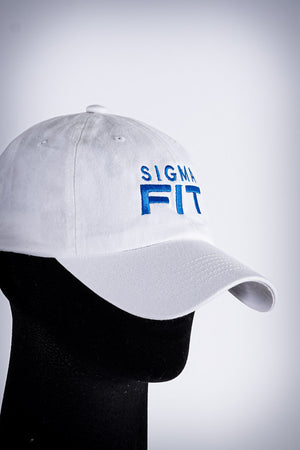 Sigma FIT polo dad hat, white