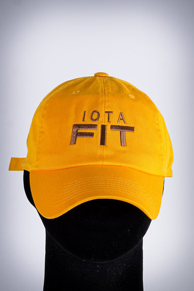 Iota FIT polo dad cap, gold