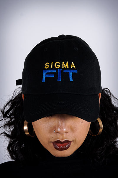Sigma FIT (sgrho) polo dad hat, black