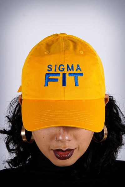 Sigma FIT (sgrho) polo dad hat, gold