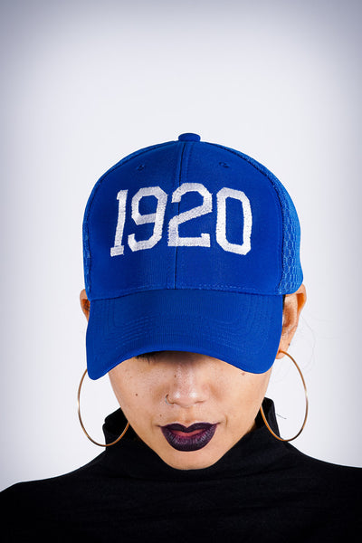 1920 was the Year flex sport cap, blue