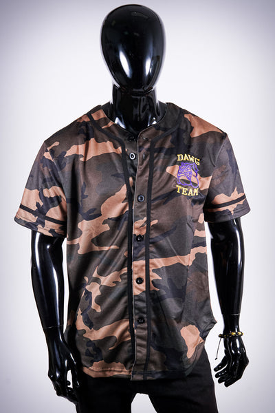 Dawg Team Bully jersey, camouflage