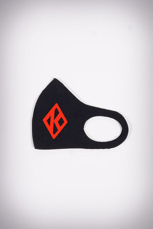 Protected! Diamond-K mouth mask, black
