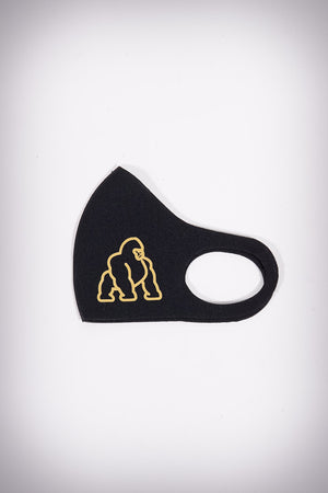 Protected! APE mouth mask, black