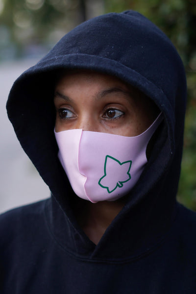 Protected! Ivy mouth mask, pink