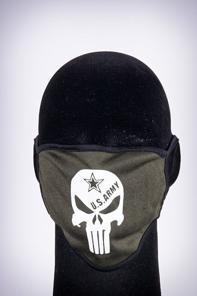 Covered! US Army mouth mask, olive