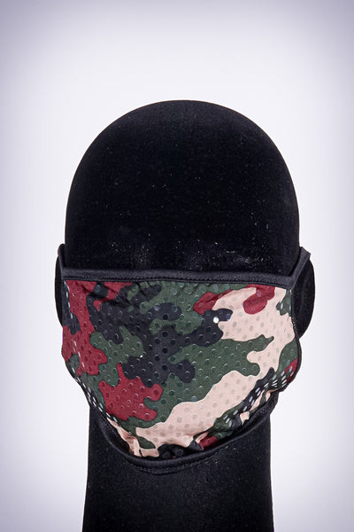 Covered! Army Brat mouth mask, green