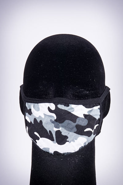 Covered! Camo Ice mouth mask, grey