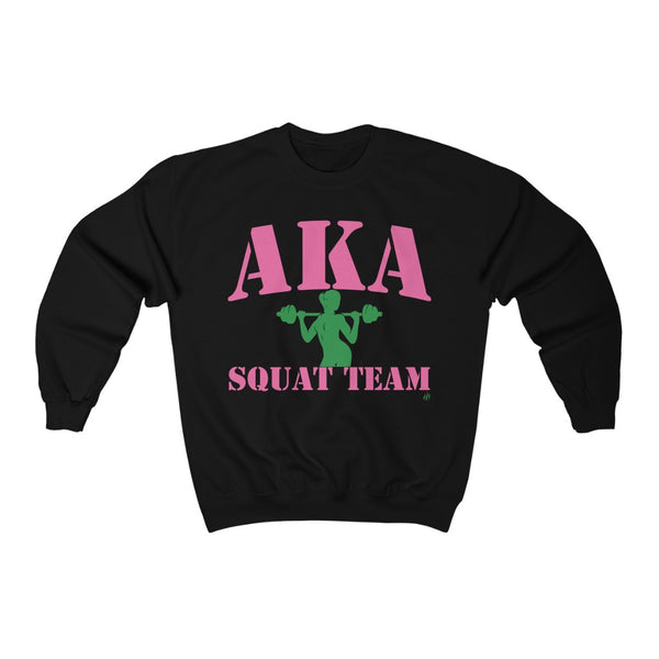 Squat Team, AKA sweatshirt