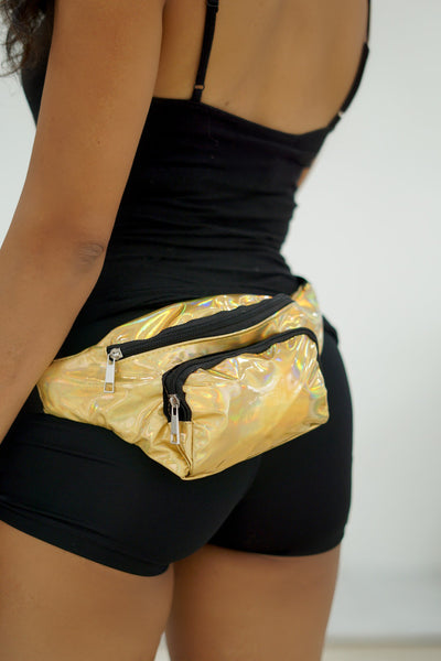 The Golden Pack belt bag