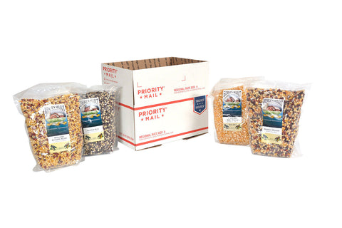 4 Bags of Popcorn Flat Rate Shipping
