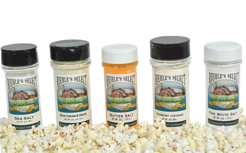 Popcorn Seasoning Sampler