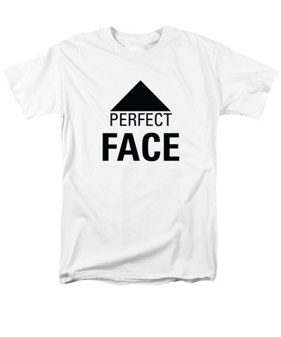 Perfect Face - Men's T-Shirt  (Regular Fit)