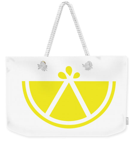 Simply Lemon - Weekender Tote Bag