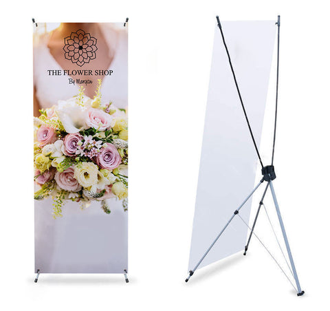 Banner Stand X-Frame (Outdoor)