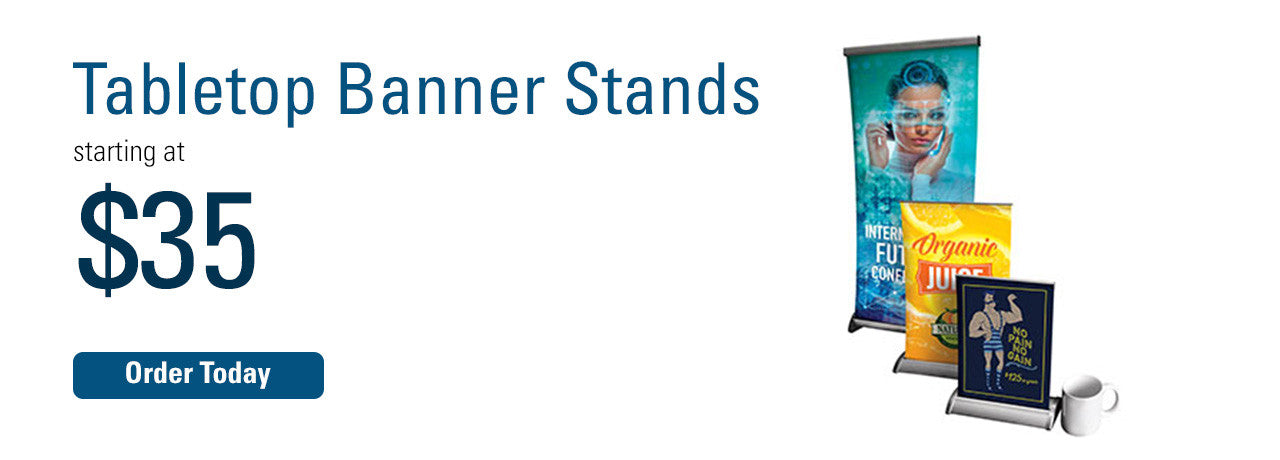 Tabletop Bannerstands