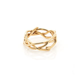 18k multi-vine ring