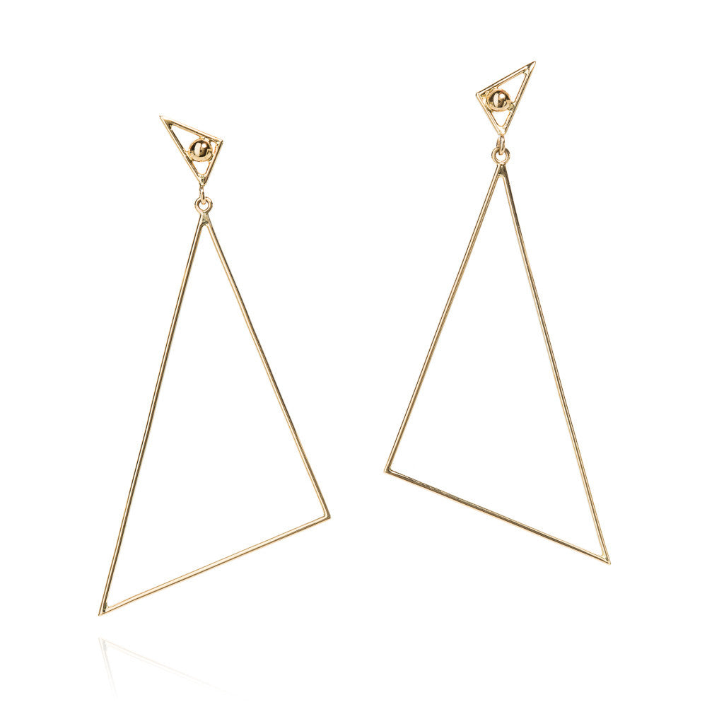 18k Pythagoras earrings