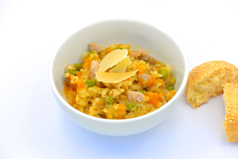 Chicken & Pumpkin Risotto