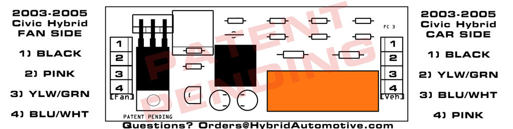 2003 2005 civic hybrid installation instructions hybrid automotive click on diagram at right for