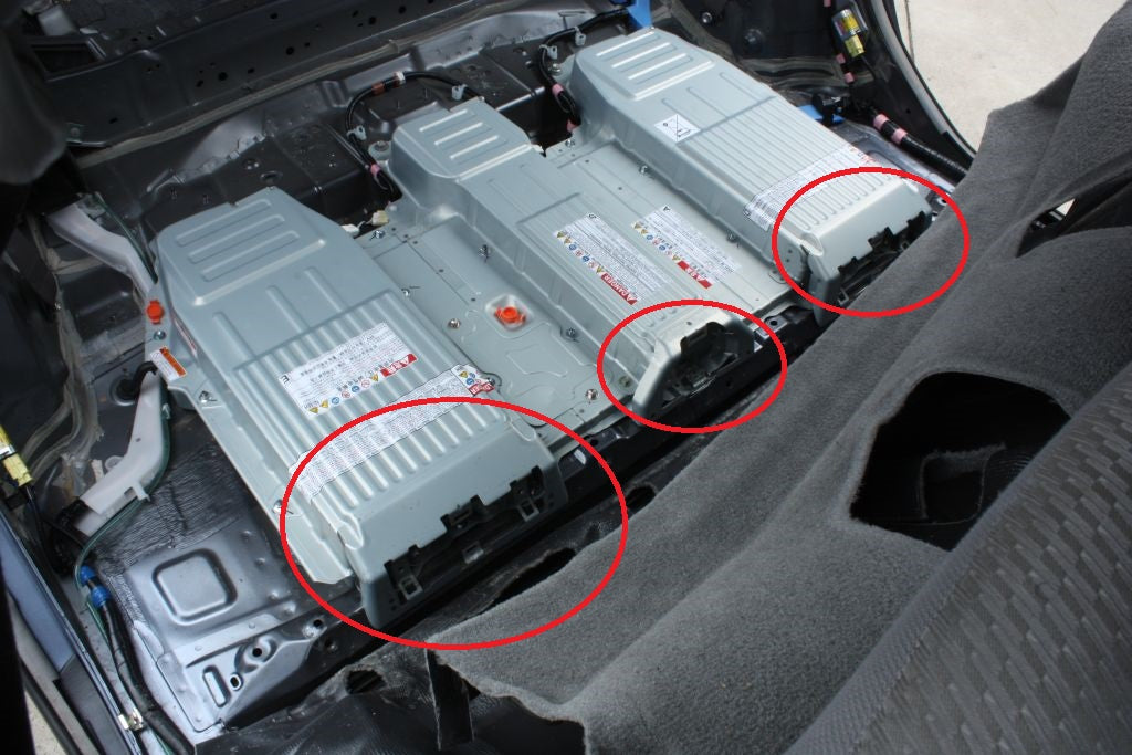 2009 toyota highlander battery removal how to change a battery in a prius step by step video. Black Bedroom Furniture Sets. Home Design Ideas
