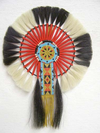 Native American Style Made Horsehair Bustle