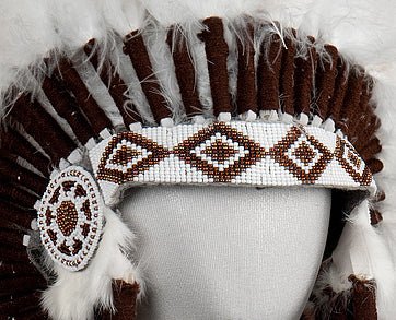 American Indian Navajo Feather Headdress