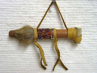 Native American Style Miniature Fully Functional Pipes - 6""