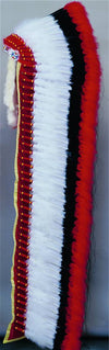 Deluxe Ready-Made Headdress Warbonnet - Double Trailer
