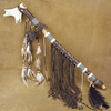 Native American Deer Antler Peace Pipe