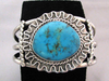 1960s Native American Style Navajo Made Cuff Bracelet