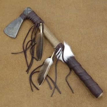 Native American Style Plains Indian Warrior Tomahawk