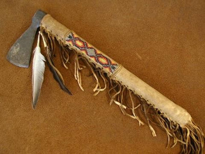Plains Indian Decorative Tomahawk - Medicine Man Style