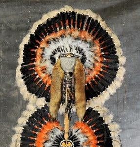 Thunderbird Authentic Navajo Indian Headdress War Bonnet